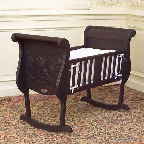 Chelsea Cradle In Espresso Baby Furniture Baby Cribs Nursery