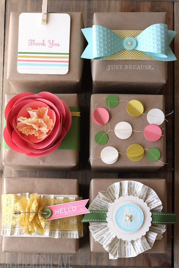 Inspired By This - Pretty Packages - Celebrations at Home