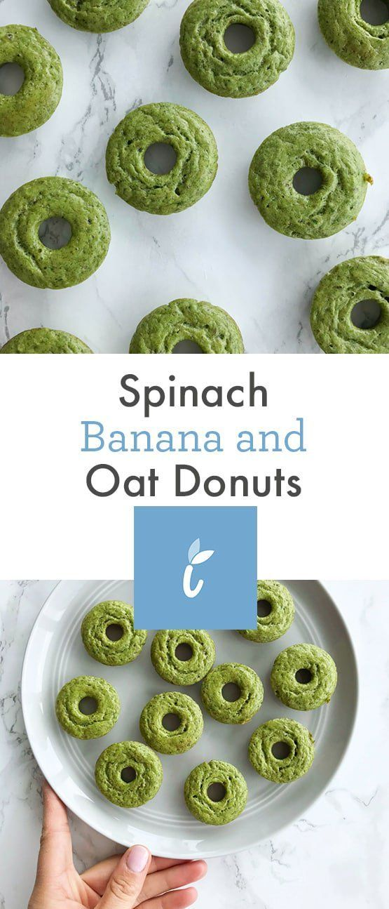 Spinach Banana and Oat Muffins - Inspiralized