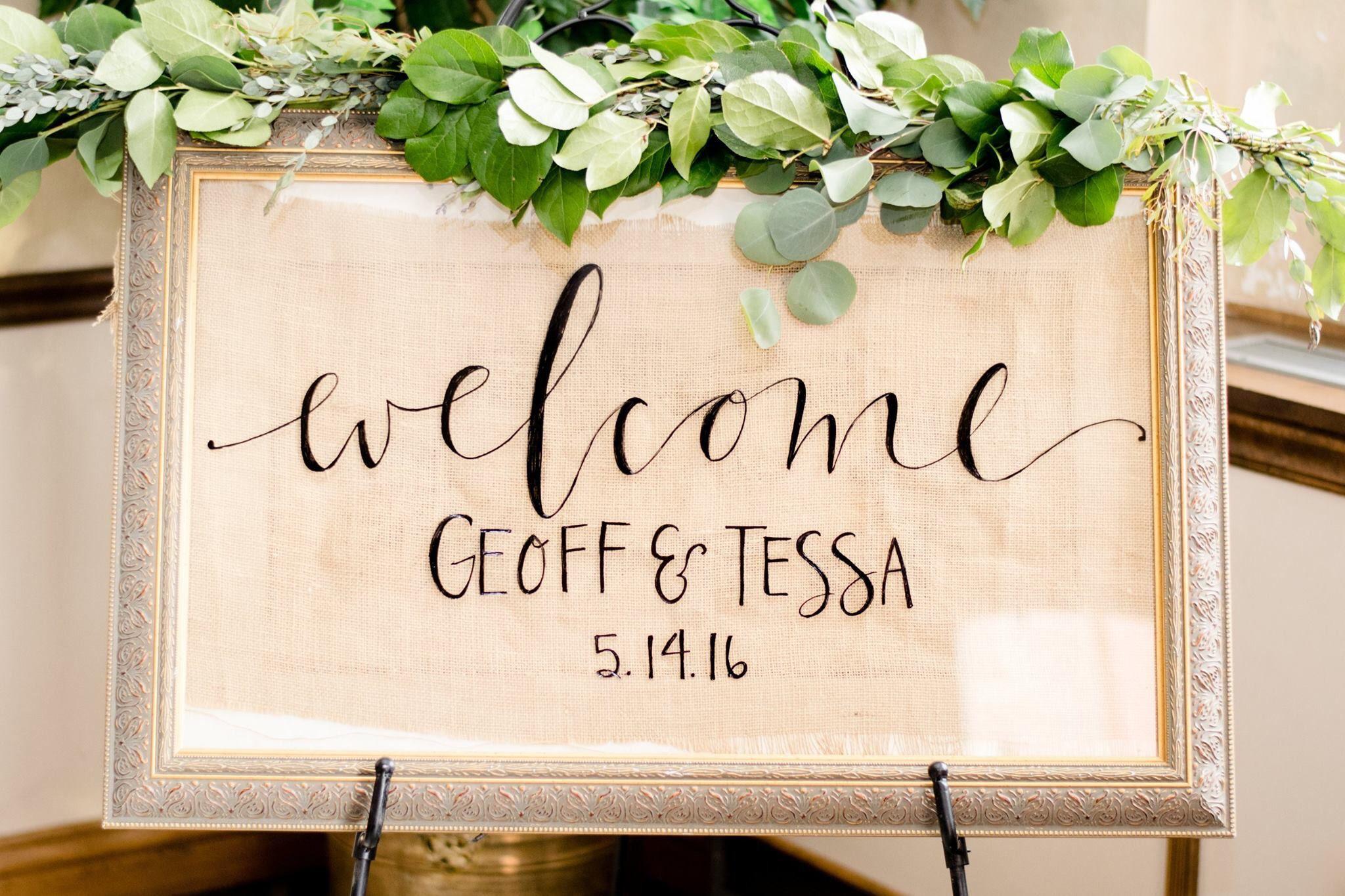 40+ Wedding welcome signs diy ideas
