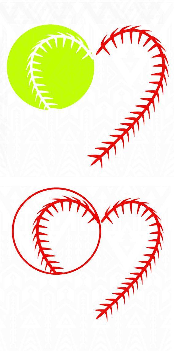 baseball laces,softball silhouette,heart laces, laces svg, Baseball ...