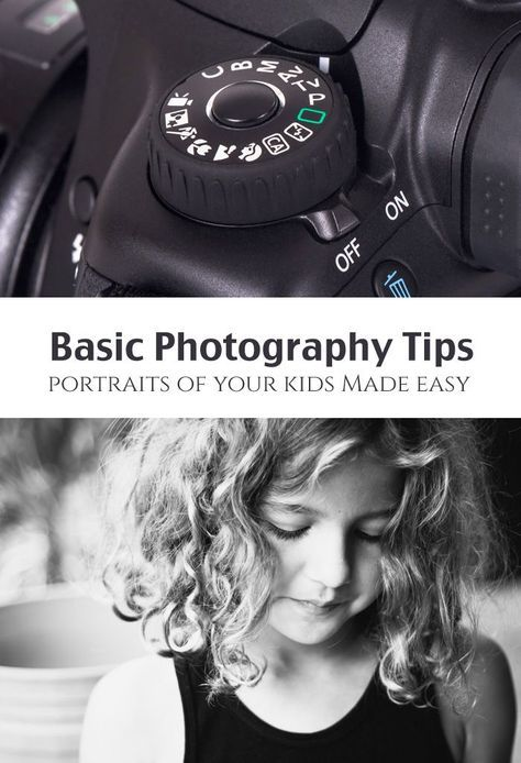 - Basic Photography Tips: Artistic Portraits of Kids