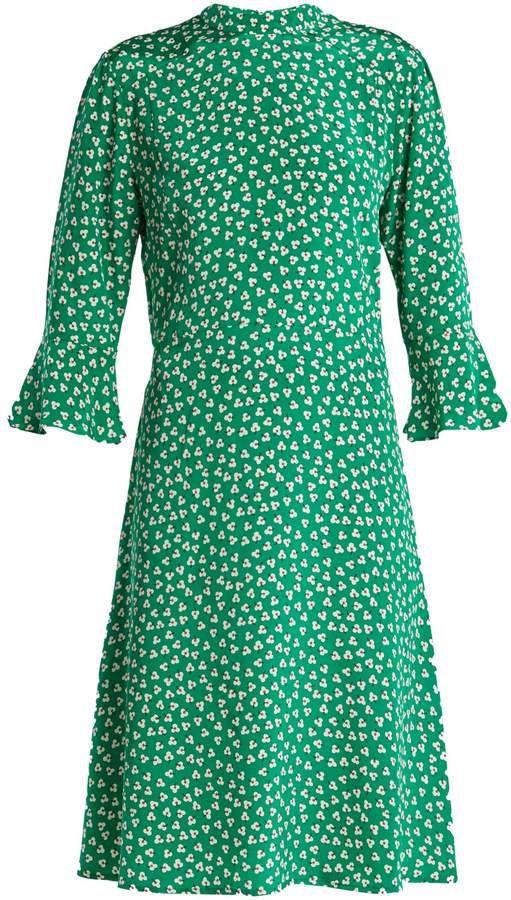 4ad5f2299fe5 DAY Birger et Mikkelsen HVN Ashley floral-print silk dress ...