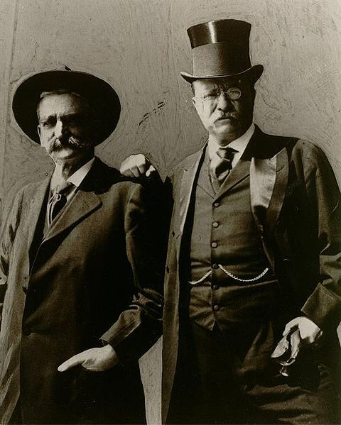 Seth Bullock and Theodore Roosevelt