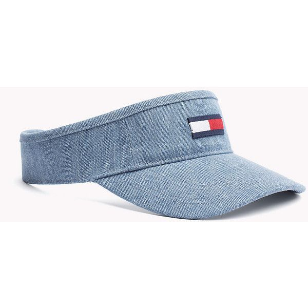 33d6523bc44 THDW DENIM VISOR 17 ❤ liked on Polyvore featuring accessories and sun visor