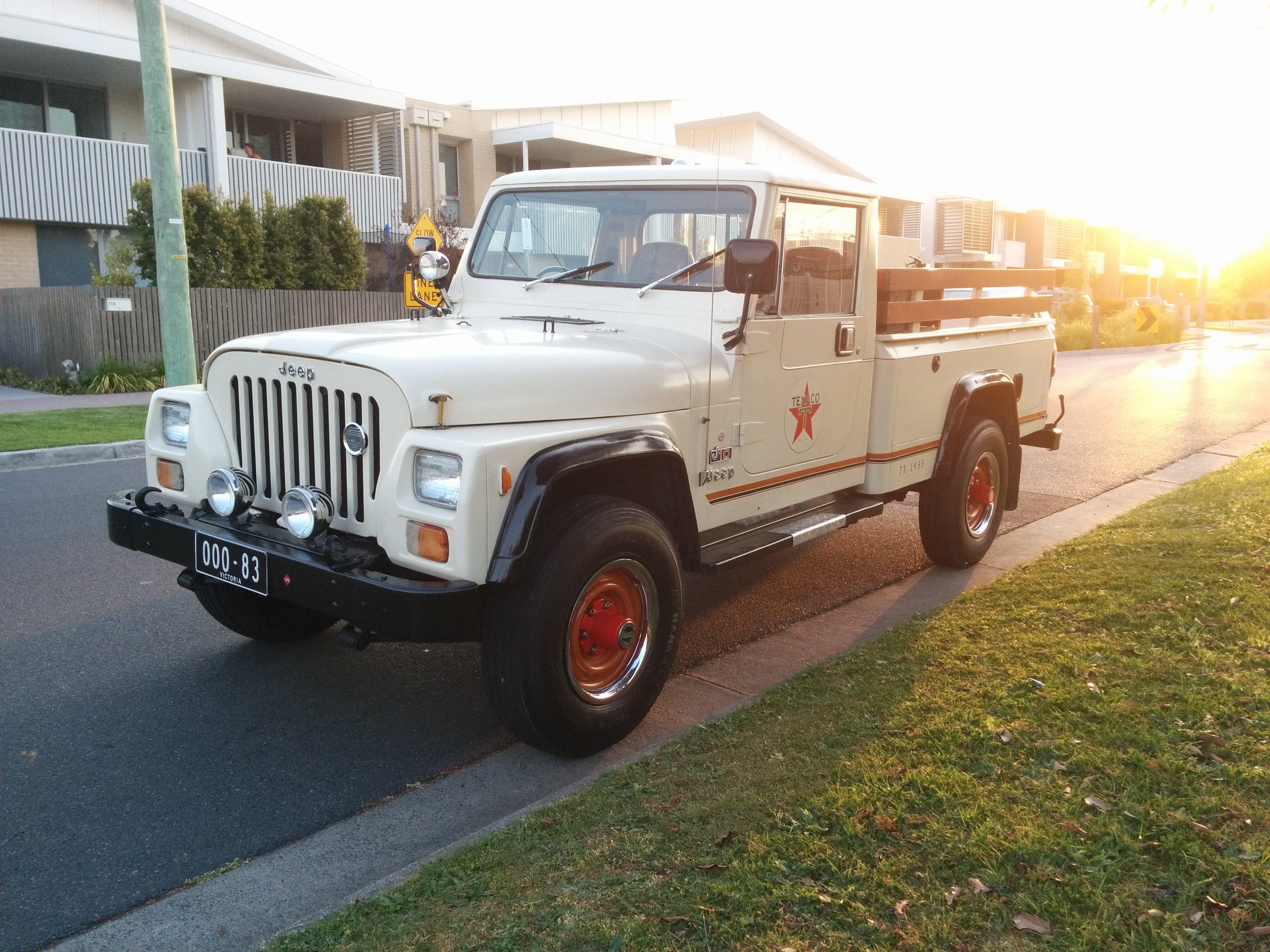 Restored Australian Jeep Cj10 Truck Jeep Garage Cool Jeeps