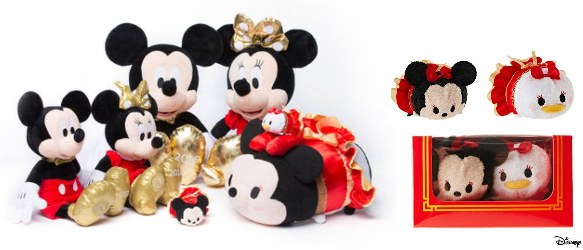 Shanghai Disney Store 1st Anniversary Limited Edition Releases
