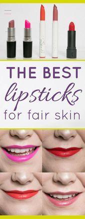 Photo of My Favorite Lipsticks for Fair Skin  My Favorite Lipsticks for Fair Skin    This…