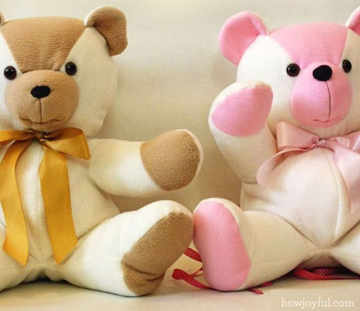 Sew a Memory with These These Free Patterns for Teddy Bears ...
