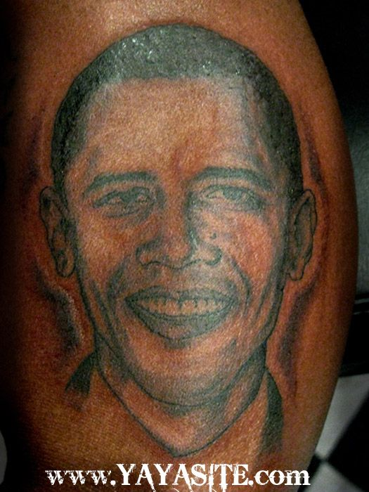 Obamas To Make Tattoo Pictures to Pin on Pinterest