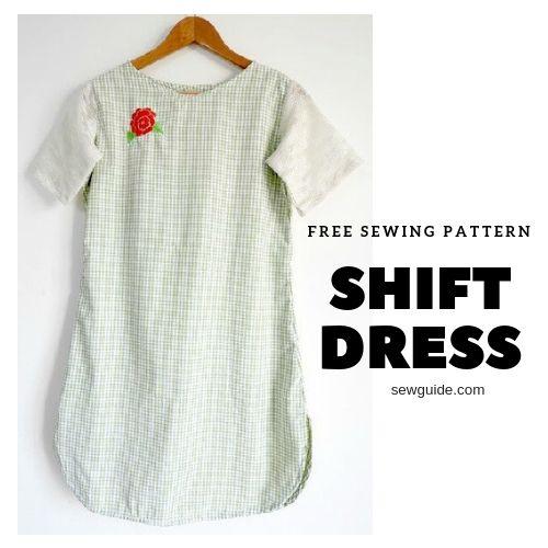 How To Make A Shift Dress Diy Pattern Sew Guide Shift Dresses Diy Dress Patterns Diy Toddler Dress Patterns