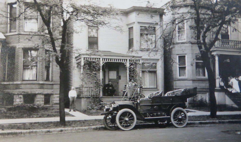 Vintage 1920\'s Chicago North Side Street Scene Snapshot Photo ...