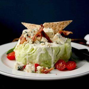 Iceberg Wedge With Blue Cheese Recipe Saveur Com Lettuce Recipes Iceberg Lettuce Recipes Summer Salad Recipes