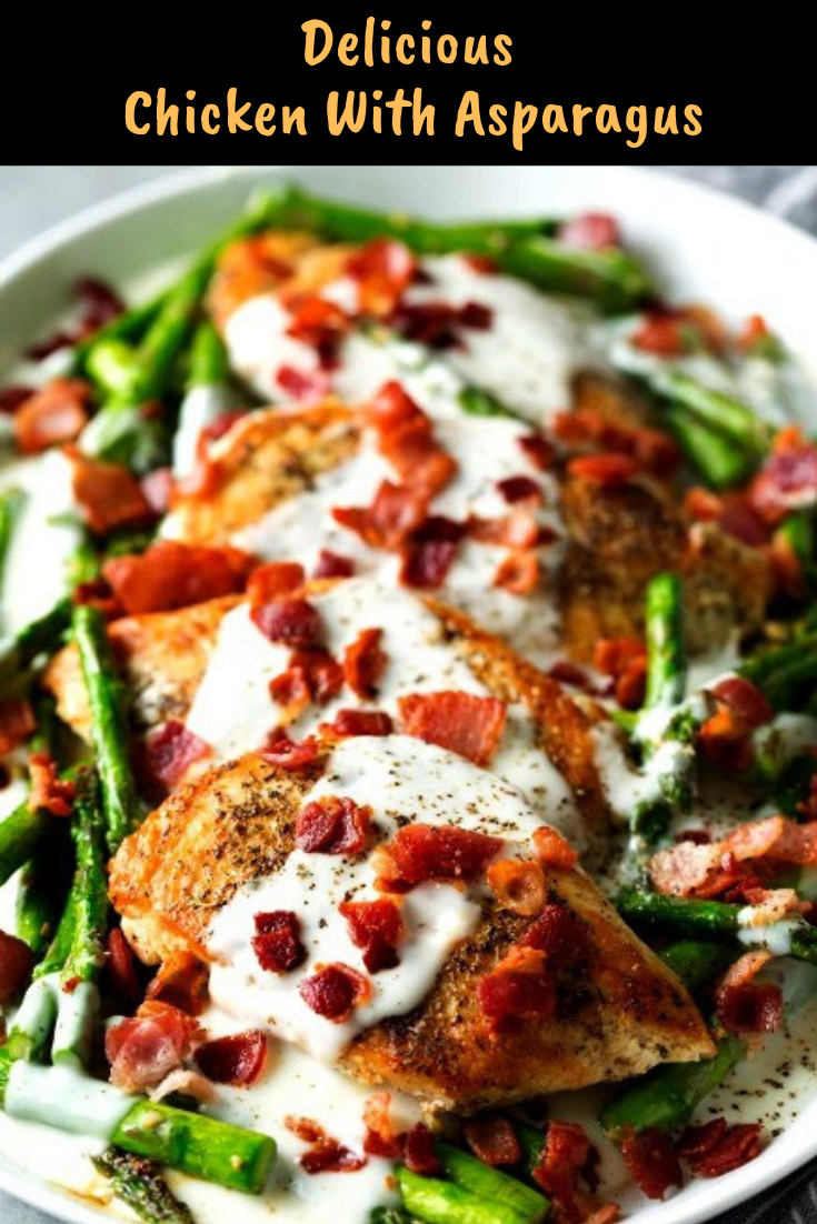 Delicious Chicken With Asparagus Recipe images