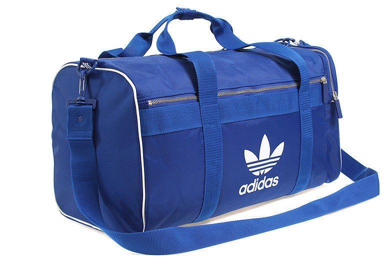 3a9a77144433 adidas Adi-Color Duffle Gym Bag Backpack Unisex Large Bag AC Blue Soccer  CW0619  adidas  DuffleGymBag
