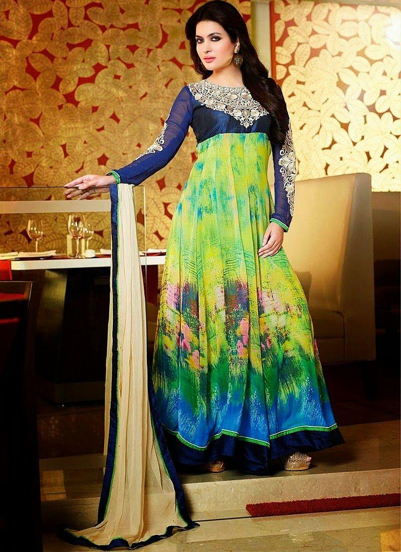 Latest anarkali dresses for eid ul azha dress