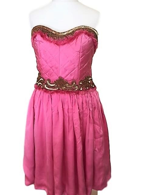 9c9d5c292528 A louer sur La Fashion Lib   Robe Manoush rose