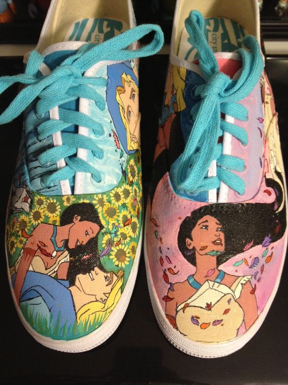Custom Hand-Painted Shoes: Disney Pocahontas | kids ...