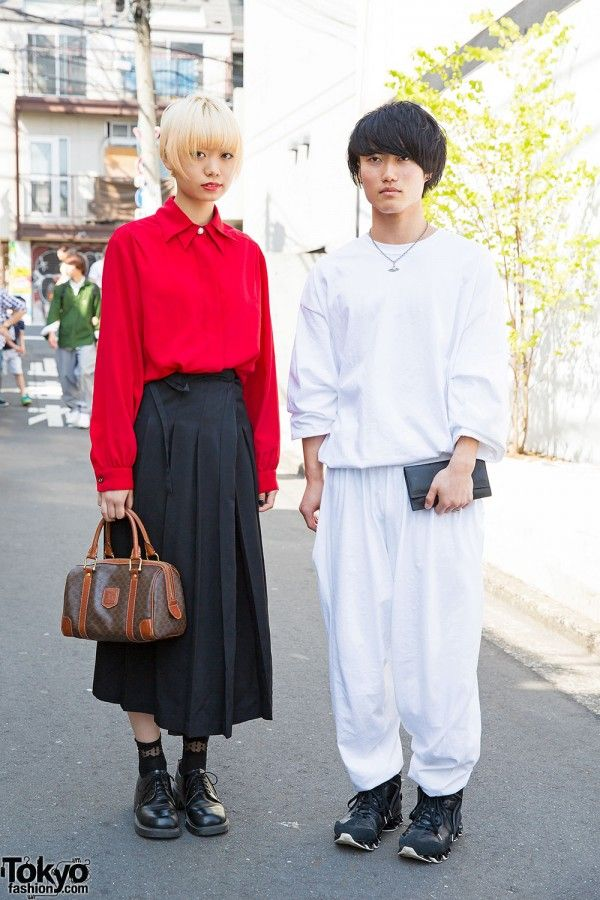 6631e4d0d4e Harajuku Duo in Comme Des Garcons