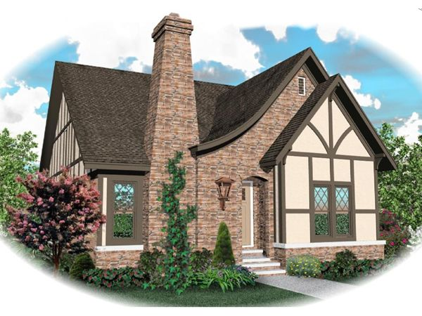 1930s english country cottage HOUSE PLANS |     photos may