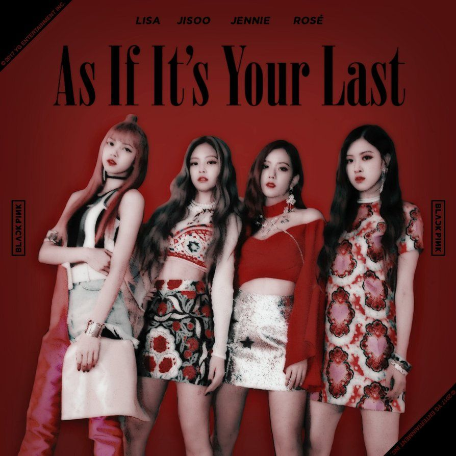 Blackpink As If It S Your Last Album Cover 2 By Leakpalbum Com