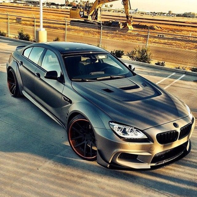 M6 Gran Coupe What A Beast Via Carsofinstagram