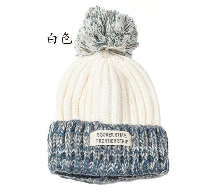 Stylish Women Winter Hats Fashionable Crotchet Knit Beanie Cap Hat Warm for  Women Girls  clothes c01b19a526ac