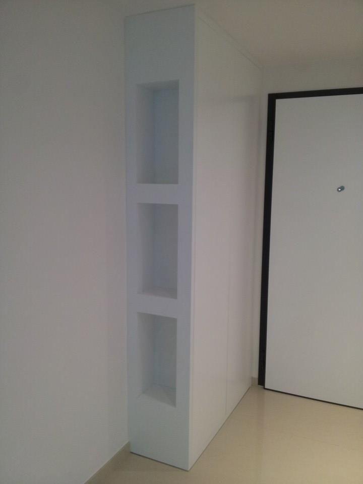 Realizzazione del 15 5 2014 armadio a muro artigianale da - Armadio ingresso ikea ...