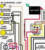 1969 ford torino-fairlane-ranchero-cobra color wiring diagram |  fordrancheroparts com - parts - ford ranchero parts