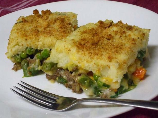 The Mixture Green Bean Mashed Potato Ground Beef Casserole Recipe Food Com Recipe Ground Beef Casserole Recipes Ground Beef Casserole Beef Casserole Recipes