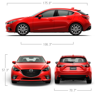 2014 Mazda3 Hatchback Car Specifications U0026 Features | Mazda USA Good HP,  Decent MPG, Moonroof. Starting At 18k.