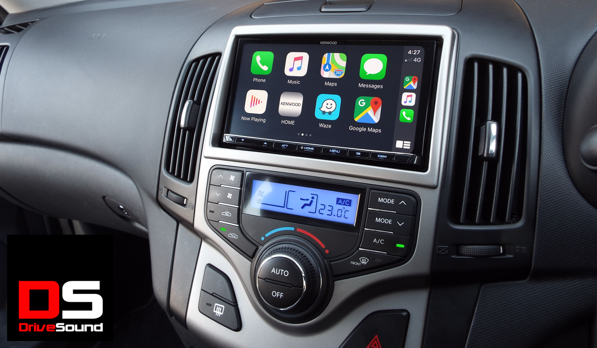 Hyundai i30 with Apple CarPlay installed by DriveSound