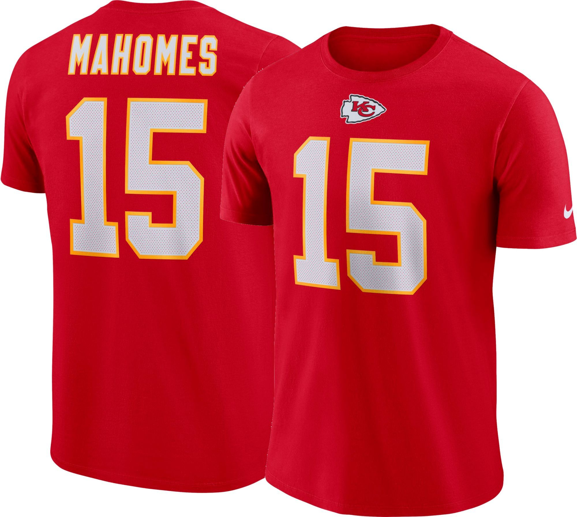 74c357c1121 Patrick Mahomes  15 Nike Men s Kansas City Pride Red T-Shirt in 2019 ...