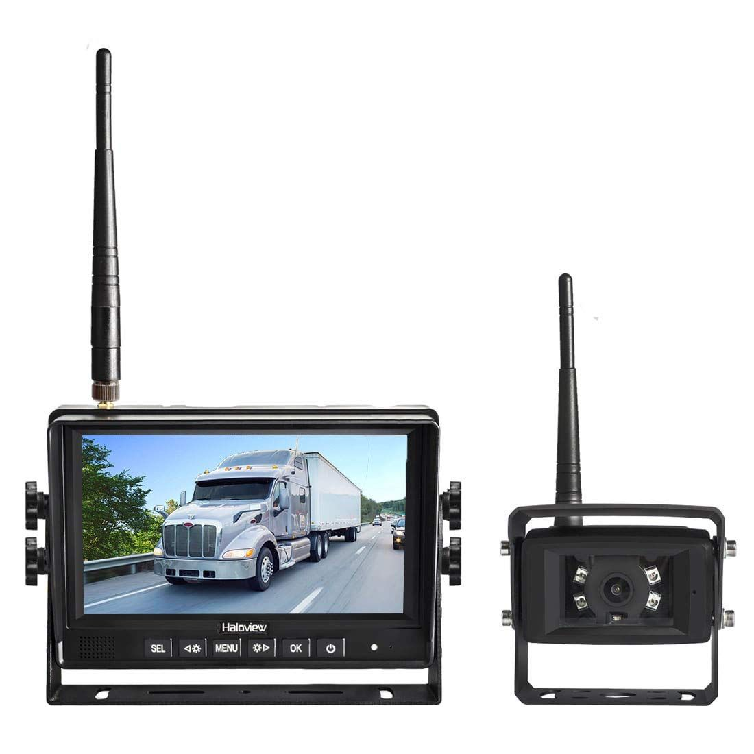 Digital Wireless Rear View Backup Camera System 7 Lcd For Rv
