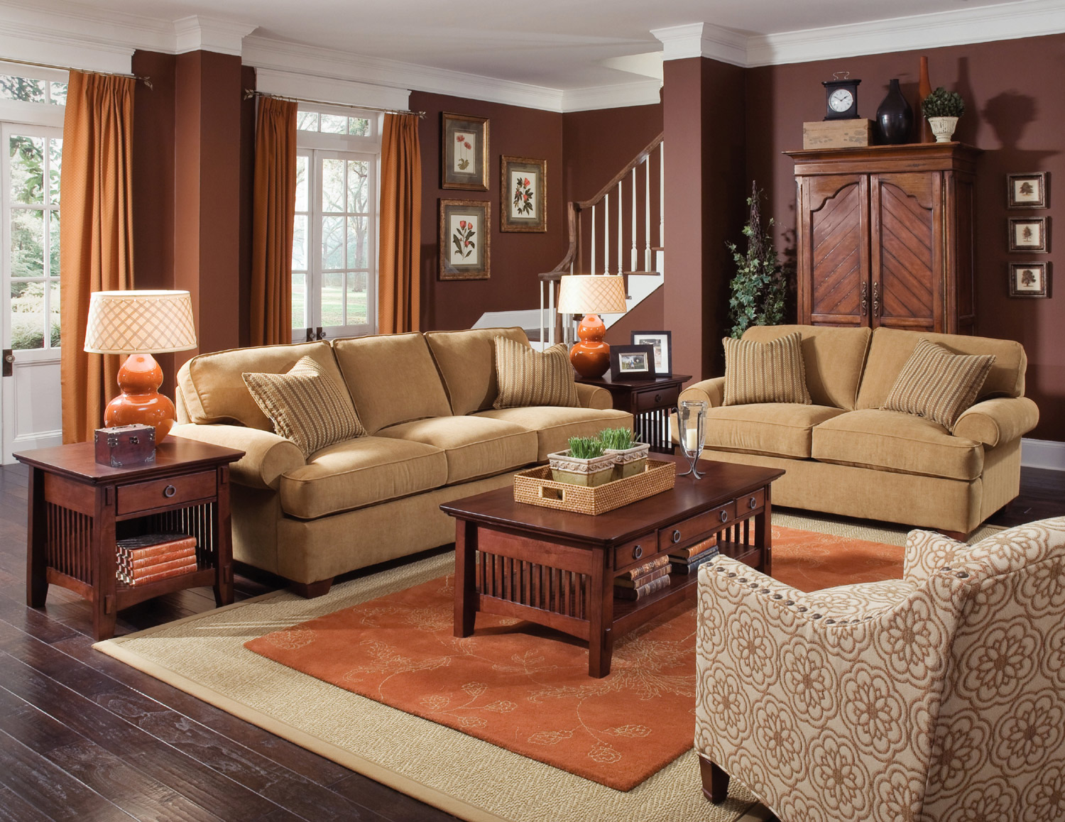 Attirant Cabin Sofa | Rowe Furniture | Home Gallery Stores