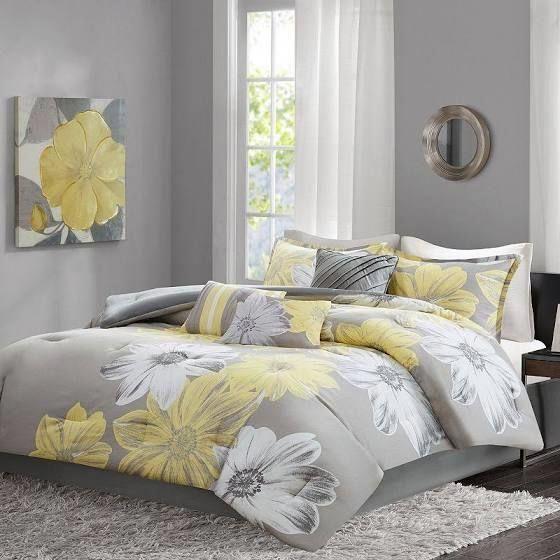 Purple And Yellow Comforter Bedsheetstoprated Yellow And Gray Bedding Comforter Sets Yellow Comforter