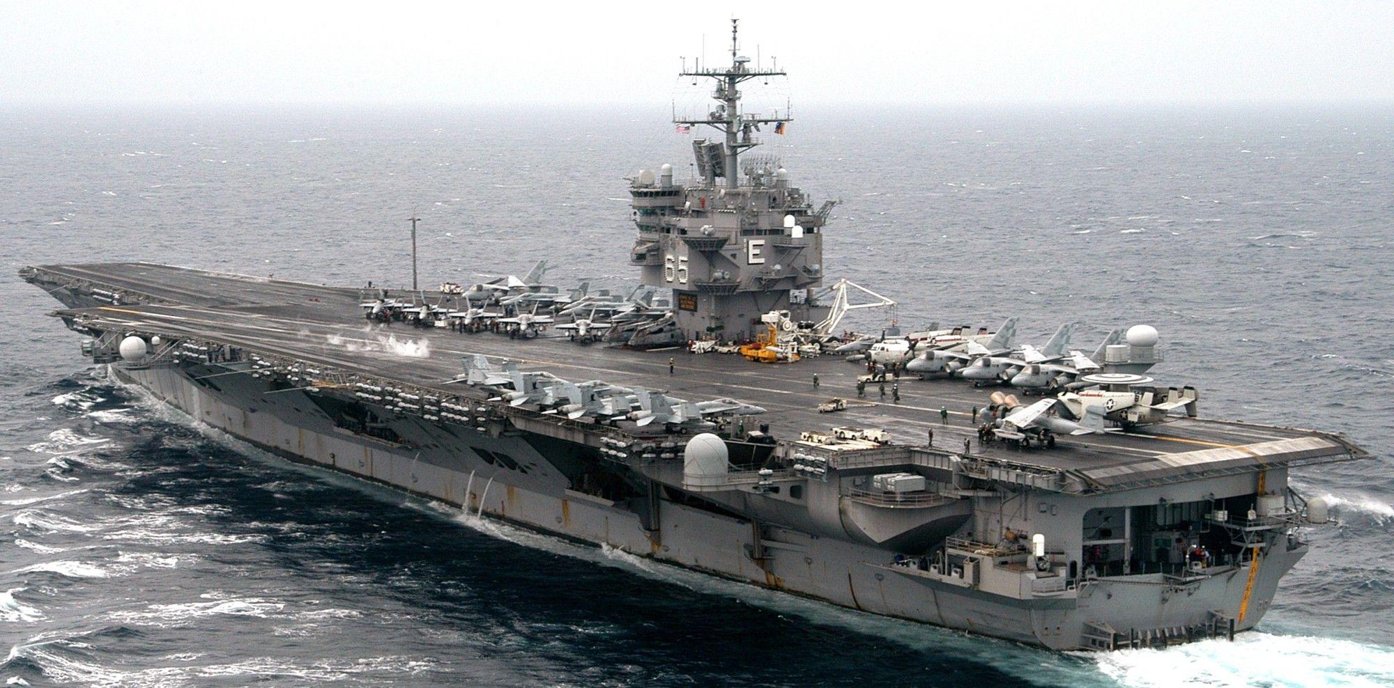 Aircraft Carrier CVN-65 USS Enterprise Tamiya 78007 1:350 Flugzeugträger
