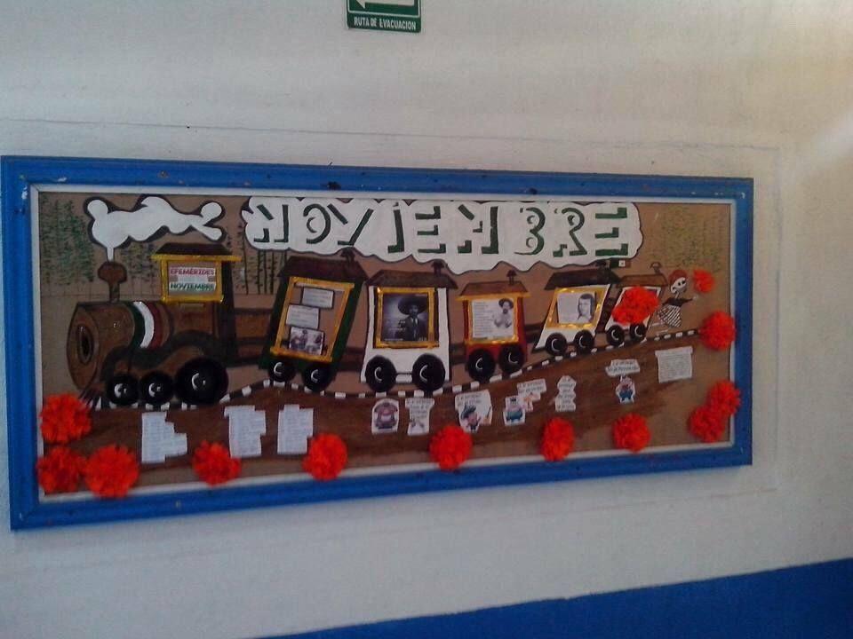Peri dico mural del mes de noviembre peri dicos murales for Concepto de periodico mural