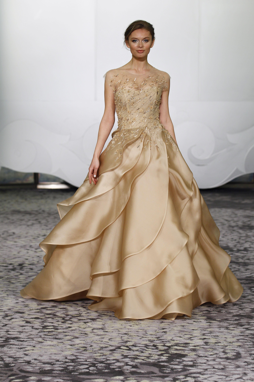 Gold dresses for wedding  Aysel  Rivini Spring   Rivini Spring   Pinterest  Spring