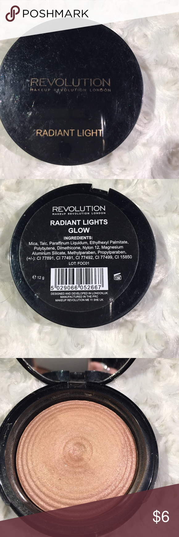 Makeup Revolution Radiant Lights in Glow I ordered this