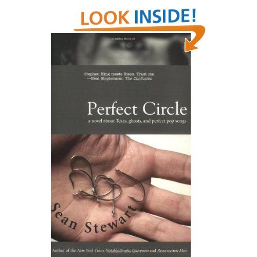 Perfect Circle by  Sean Stewart pub 2004. chicago public library doesn't have this book, will have to jump through hoops to obtain it.