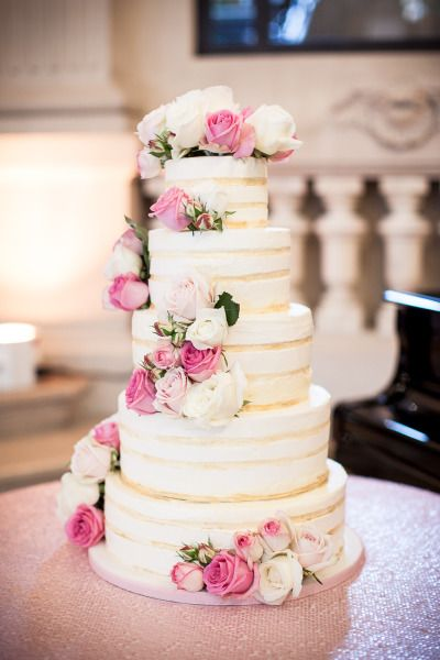 This cake is everything: http://www.stylemepretty.com/destination-weddings/2015/03/14/romantic-paris-summer-wedding/ | Photography: K Hulett - http://khpstudio.com/