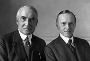 Image result for harding coolidge