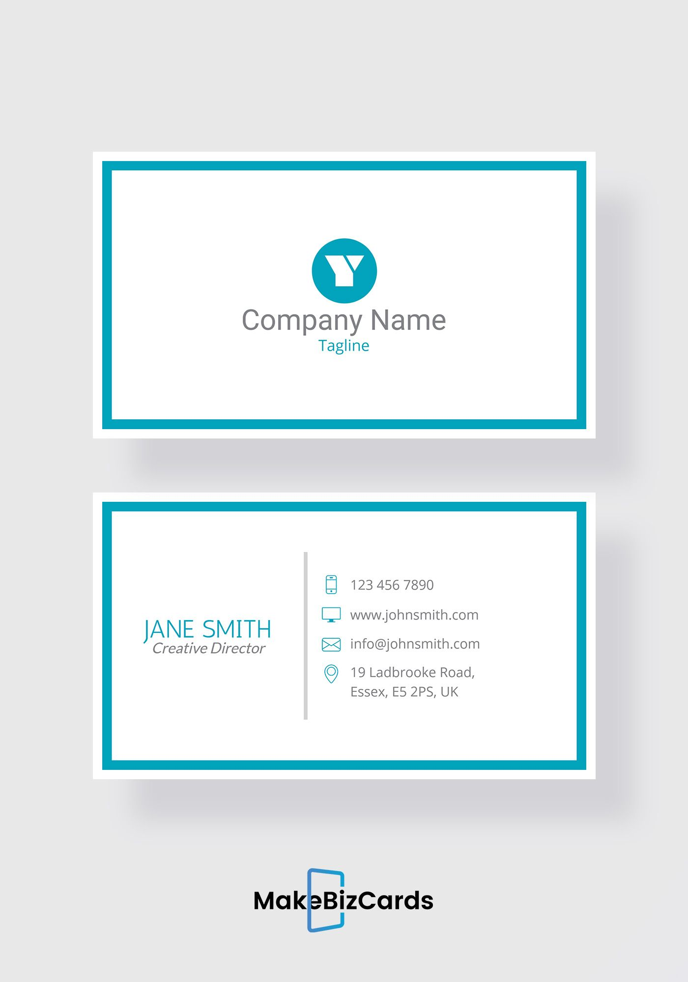 free trendy ceo business card template businesscard design
