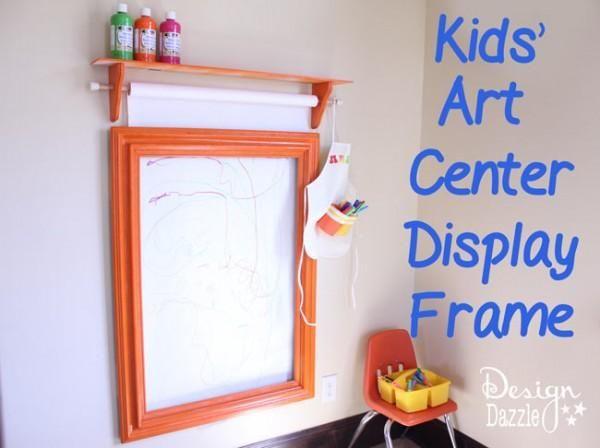 Kids Art Center And Display Frame Kids Kids Art Centers