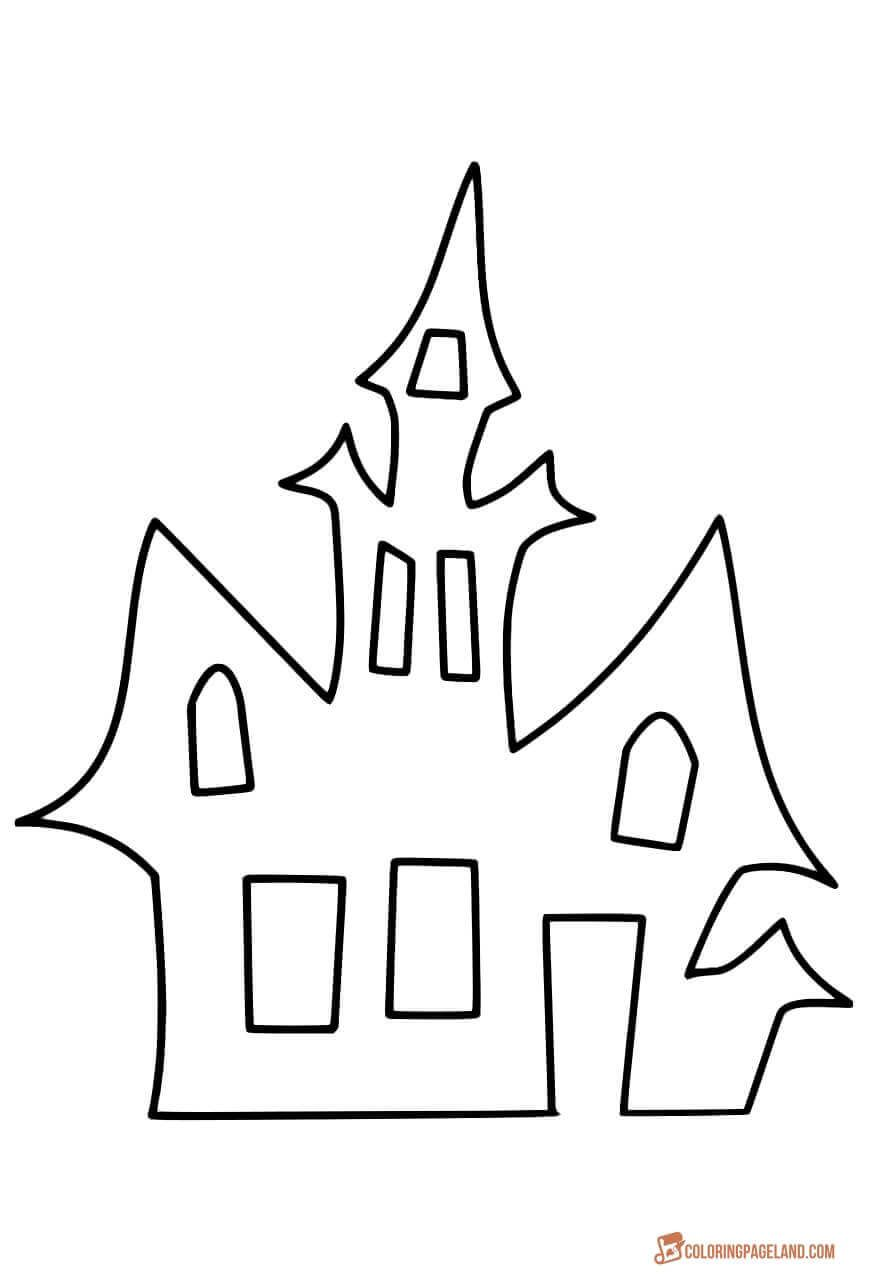 House Coloring Pages Downloadable and Printable Images
