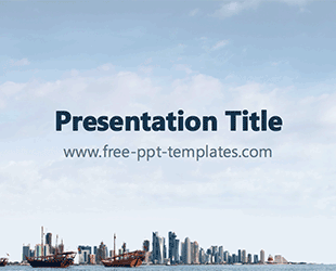 Qatar ppt template free powerpoint templates countries qatar ppt template free powerpoint templates toneelgroepblik Images