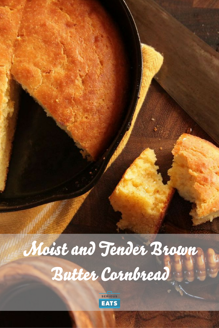Moist And Tender Brown Butter Cornbread Recipe Winter Recipes Brown Butter Cornbread Butter Cornbread Recipe