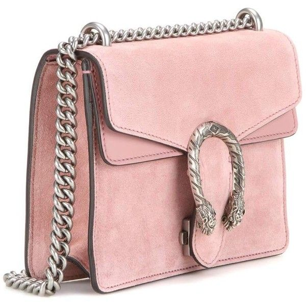 Gucci Dionysus Mini Suede Shoulder Bag ($1,700) ❤ liked on ...