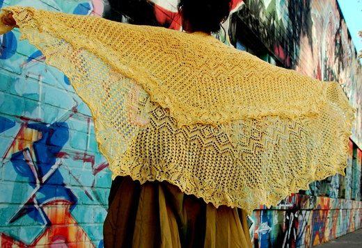 ju hua knitting project by bunnymuff
